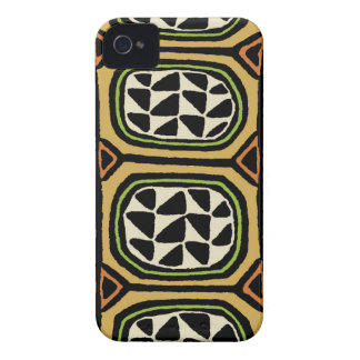 African Kuba Textile Design Case-Mate iPhone 4 Case
