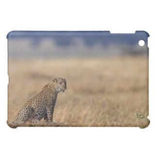 African leopard in grasslands , Kenya , Africa iPad Mini Case