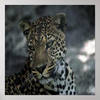 African Lepoard Print