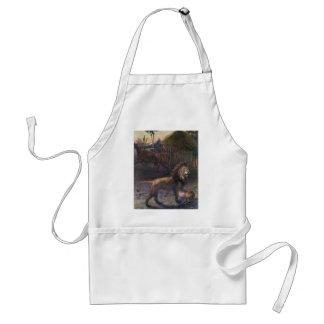 african lion apron