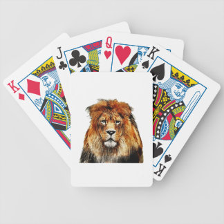 African Lion Bicycle Playing Cards