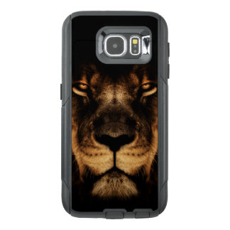 African Lion Face Art OtterBox Samsung Galaxy S6 Case