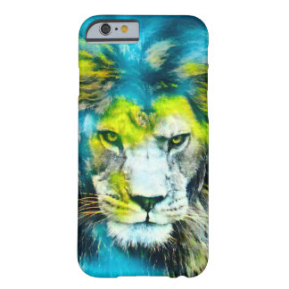 African Lion Fantasy Airbrush Art iPhone Case