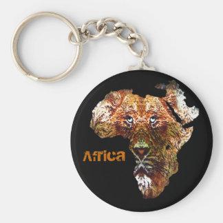 African Lion Keychain