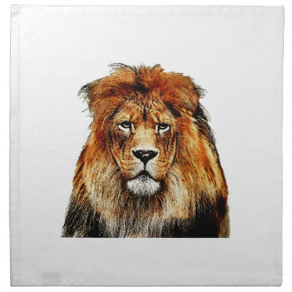 African Lion Napkin