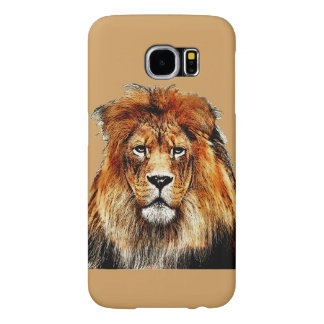 African Lion Samsung Galaxy S6 Cases