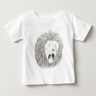 African Lion; Wildlife Artwork Collection Baby T-Shirt