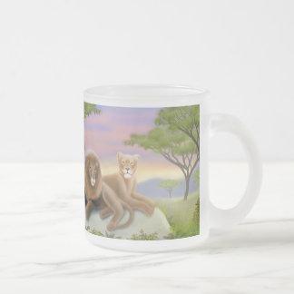 African Lions at Rest Mug