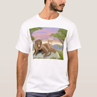 African Lions at Rest T-Shirt