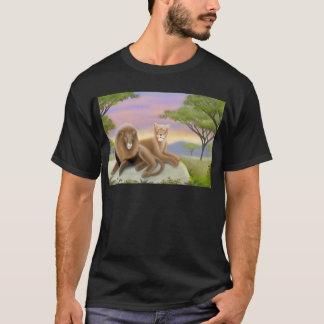 African Lions Dark T-Shirt