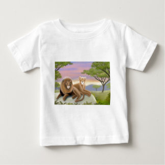 African Lions Infant T-Shirt