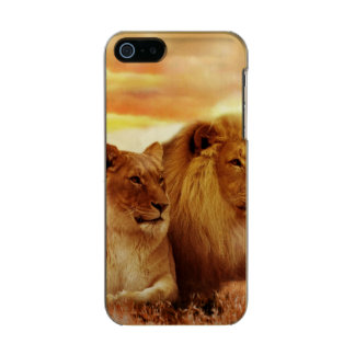African lions - safari - wildlife incipio feather® shine iPhone 5 case