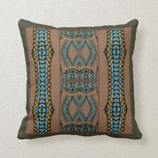 African Lore Throw Pillow