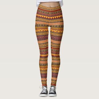 African Love - power Yoga put-went Leggings