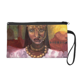 African Majesty detail purse