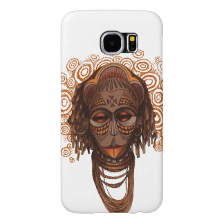 African mask samsung galaxy s6 cases