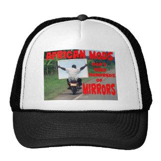 african mods mesh hats