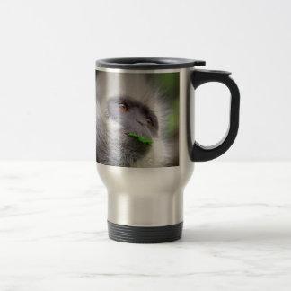African Monkey Travel Mug