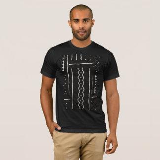 African Mud Cloth Motif T-Shirt