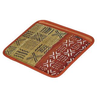 African mud cloth print ipad sleeve