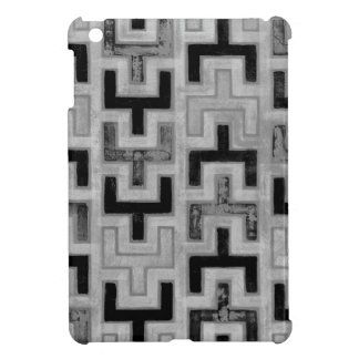 African Mudcloth Textile with Geometric Patterns iPad Mini Cover