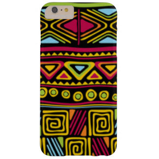 African Multi Color Pattern Print Design Barely There iPhone 6 Plus Case