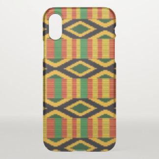 African Multi Color Pattern Print Design iPhone X Case
