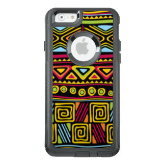 African Multi Color Pattern Print Design OtterBox iPhone 6/6s Case