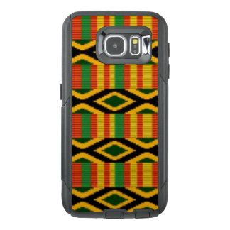 African Multi Color Pattern Print Design OtterBox Samsung Galaxy S6 Case
