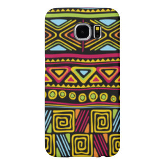 African Multi Color Pattern Print Design Samsung Galaxy S6 Cases