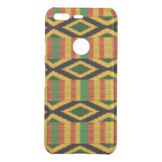 African Multi Color Pattern Print Design Uncommon Google Pixel Case