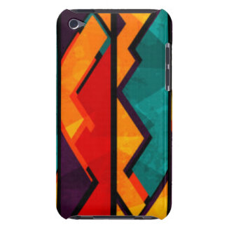 African Multi Colored Pattern Print Design Case-Mate iPod Touch Case