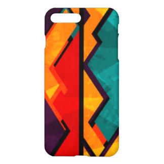 African Multi Colored Pattern Print Design iPhone 8 Plus/7 Plus Case