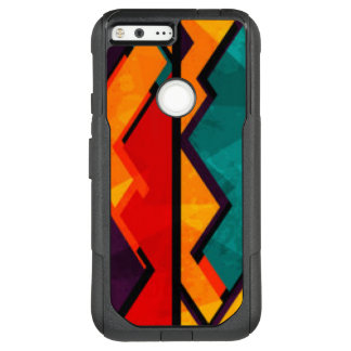 African Multi Colored Pattern Print Design OtterBox Commuter Google Pixel XL Case