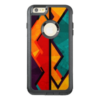 African Multi Colored Pattern Print Design OtterBox iPhone 6/6s Plus Case