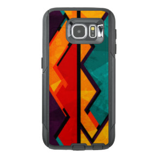 African Multi Colored Pattern Print Design OtterBox Samsung Galaxy S6 Case