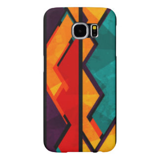 African Multi Colored Pattern Print Design Samsung Galaxy S6 Cases
