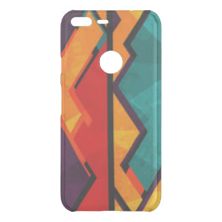 African Multi Colored Pattern Print Design Uncommon Google Pixel XL Case