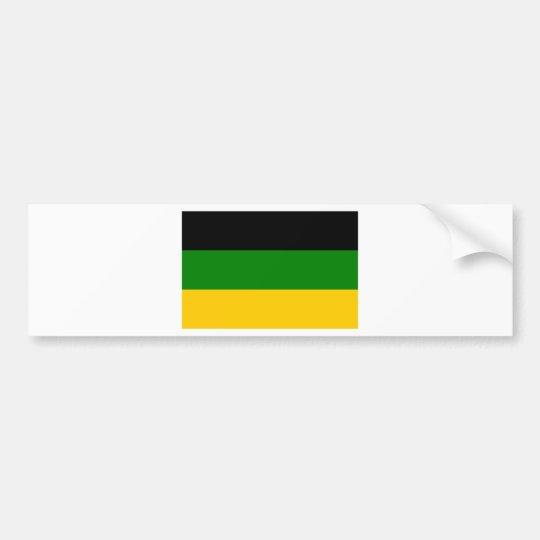 African National Congress ANC South Africa Bumper Sticker