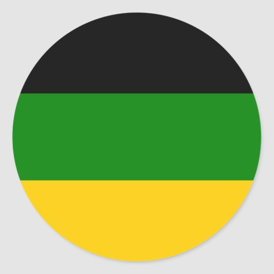 African National Congress ANC South Africa Round Sticker