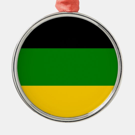 African National Congress ANC South Africa Silver-Colored Round Decoration