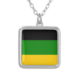 African National Congress ANC South Africa Silver Plated Necklace