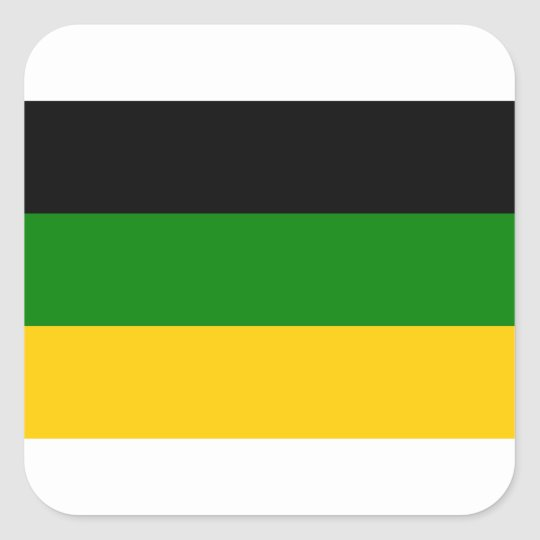 African National Congress ANC South Africa Square Sticker