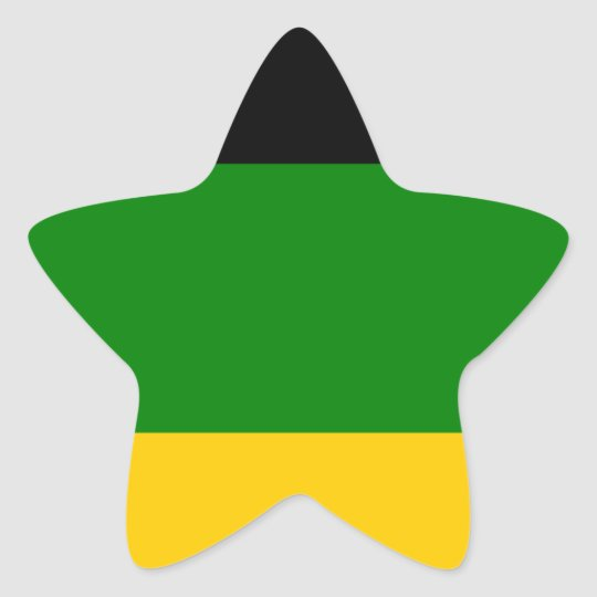 African National Congress ANC South Africa Star Sticker