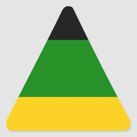 African National Congress ANC South Africa Triangle Sticker
