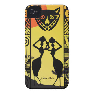 African Native iPhone 4 Case-Mate Case