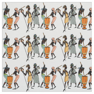 African native tribal design fabric