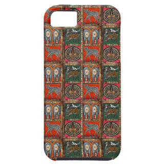 African Nguni Spotted Cow Calf Orange Print iPhone 5 Cover