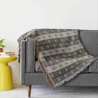 african  pattern.Adinkra simbols Throw Blanket