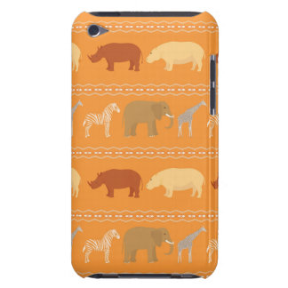 African pattern iPod touch covers